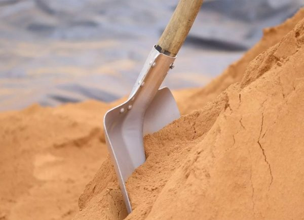 Достоинства сеяного песка