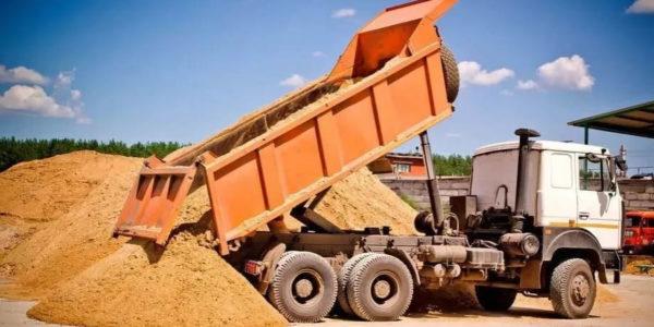 Карьерный песок 6