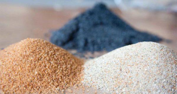 морской песок виды