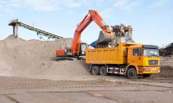 Намывной песок доставка