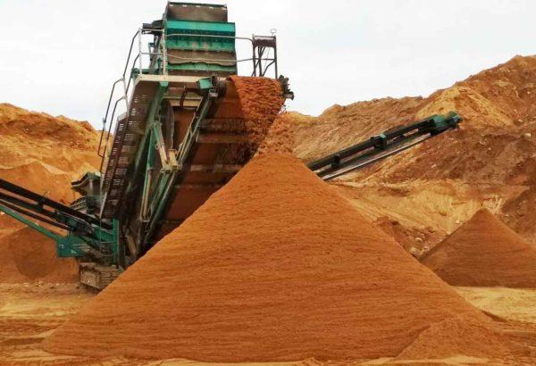 Сеяный песок 2
