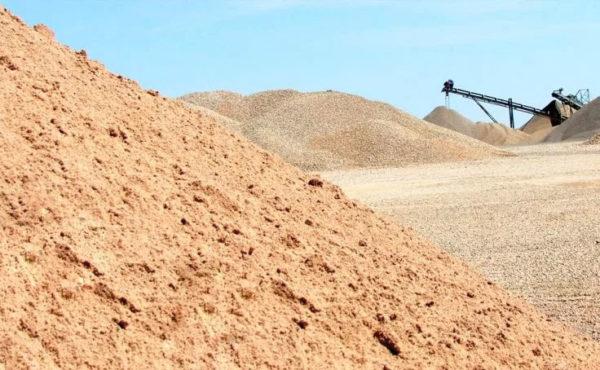 Строительный песок 2