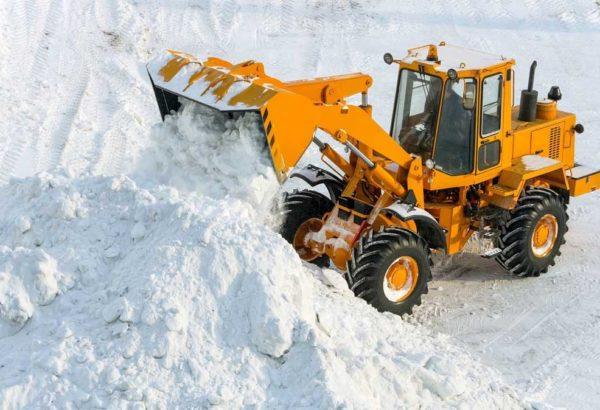 Вывоз снега 5